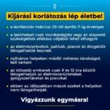 Életbe lépett a kijárási korlátozás Magyarországon - Mit kell tudnom erről?