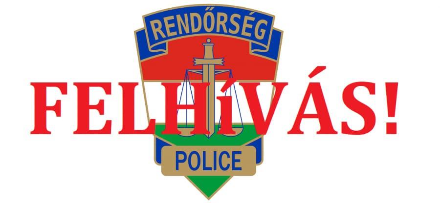 Rendőrségi felhívás – A gépjárműfeltörések megelőzhetők!