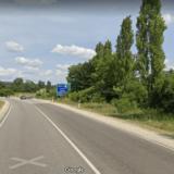 Autópálya felhajtó lezárás
