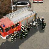 Újabb dicséretet kaptak a biatorbágyi tűzoltók