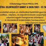 Felvételi jelentkezés a PMAMI-ba!