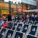 Szabadtéri mozivá alakul a Corvin Plaza tetőterasza