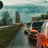 Torlódás az M1-es autópályán, három baleset is történt