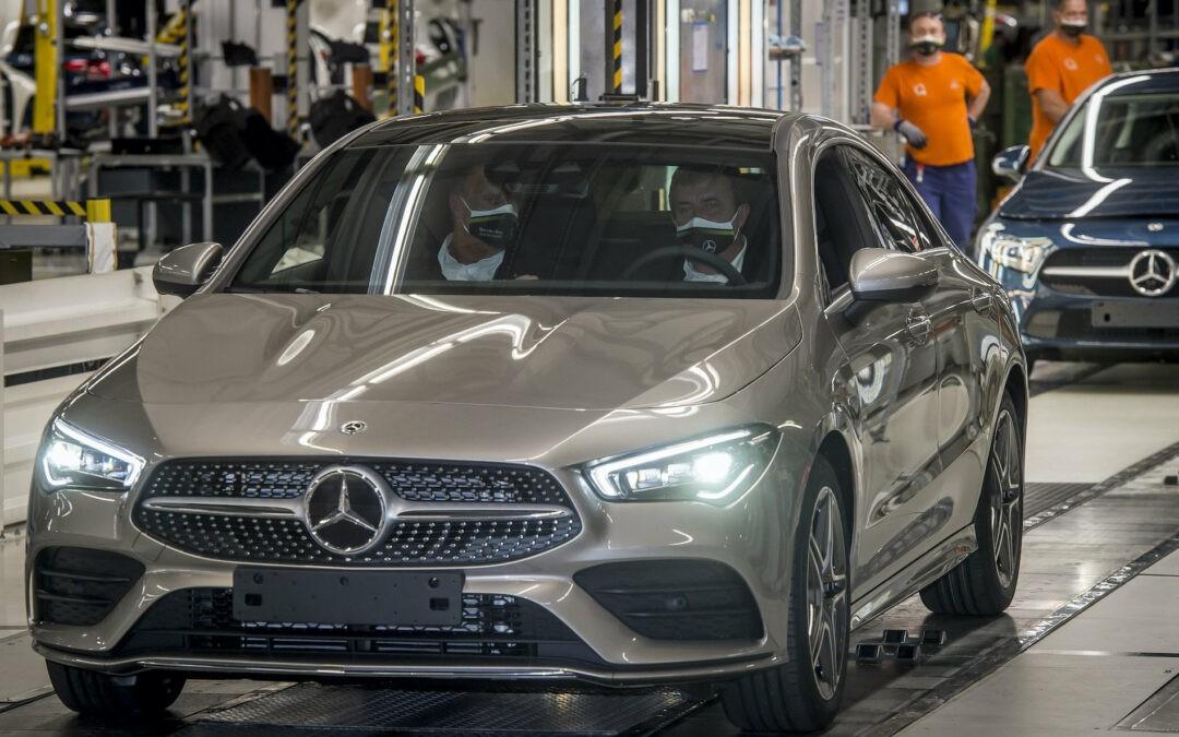 Elektromos Mercedesek gyártása indult Kecskeméten