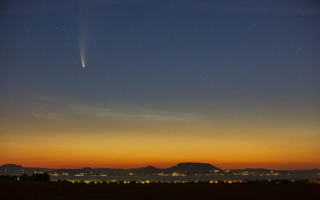 Jól látható volt Magyarországon a Föld mellett elsuhanó Neowise üstökös