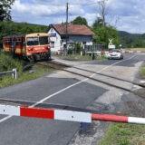 Ellenőrzik a a vasúti átjárók biztonságát
