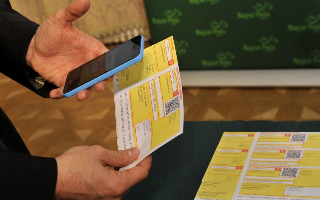 Egyre több magyar választja a digitális számlafizetési megoldásokat