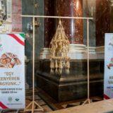 A legnagyobb Aratókoszorút mutatták be a Bazilikában