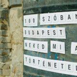 """""""100 szóban Budapest"""" történetíró pályázat"""