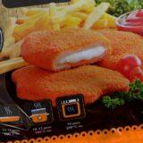 Az Auchan visszahívja a sajátmárkás, trappista sajttal töltött csirkemell terméket