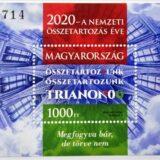 Trianon 100 - Bélyegblokkot bocsátott ki a Magyar Posta az évfordulóra