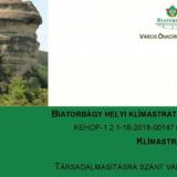 Klímastratégiai konferenciát tartottak Biatorbágyon