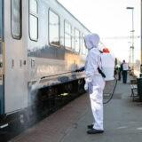Ismét naponta fertőtleníti járműveit a Volánbusz és a MÁV