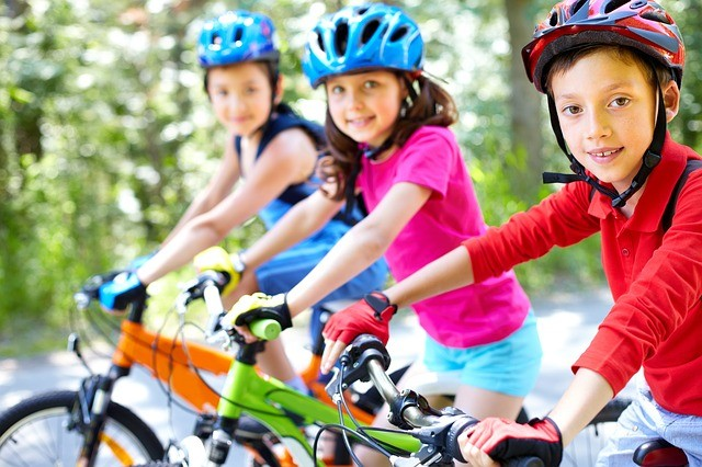 Sikeres kerékpáros vizsga a Biasuliban