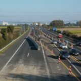 Lezárták az M0-ás autópálya M1 felé vezető oldalát a Duna-hídon