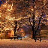 Karácsonyi fényfüzérek akadtak fenn a határon
