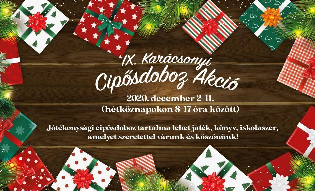 Karácsonyi cipősdoboz akció Biatorbágyon