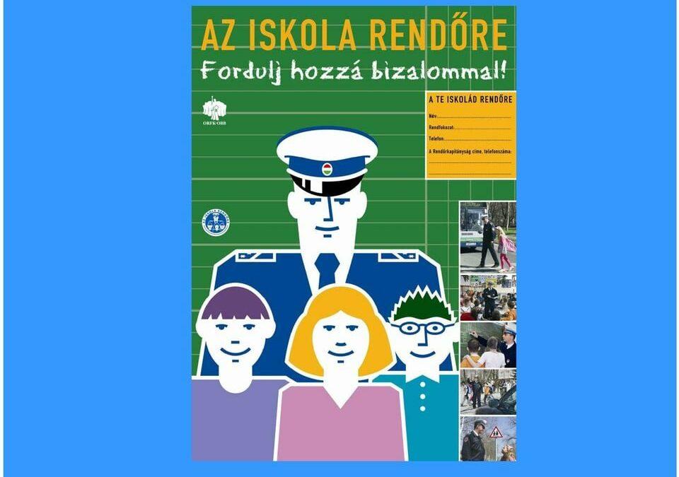 """Pénzes László kapta """"Az év iskolarendőre"""" díjat 2020-ban"""