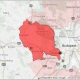 Baleset miatt áll a forgalom az M1-M7 közös szakaszán Budapest határában