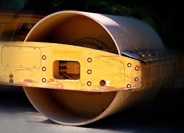 Burkolatjavítás az M1-M0-ás autópálya csomopontjában