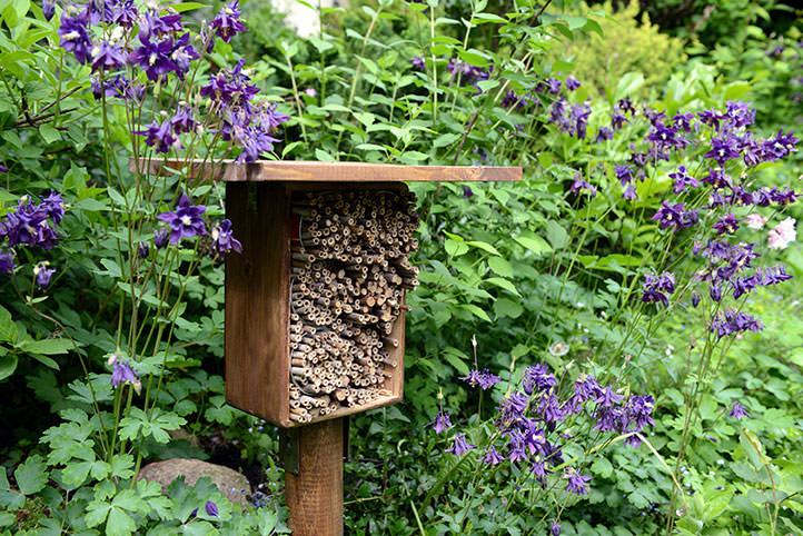 Méhecskehotelekkel védhetjük a beporzó rovarokat