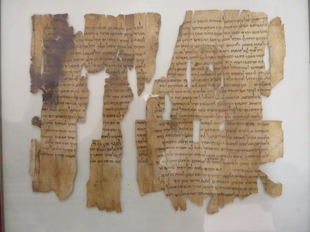 Bibliai tekercseket találtak a Júdeai-sivatag egyik barlangjában