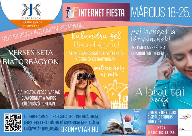 Internet Fiesta – sétára és kalandra fel Biatorbágyon!