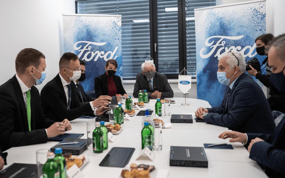 Biatorbágyon nyílt meg a Ford első európai regionális alkatrészközpontja