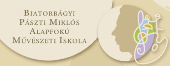 Beiratkozás a Biatorbágyi Pászti Miklós AMI 2021-2022-es tanévére