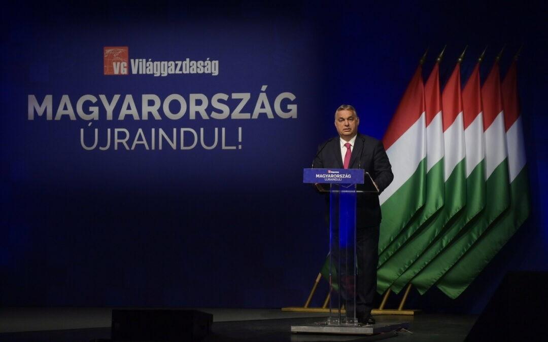Orbán Viktor: Lezárult a gazdaság megvédése, most a gazdaság újraindítása jön