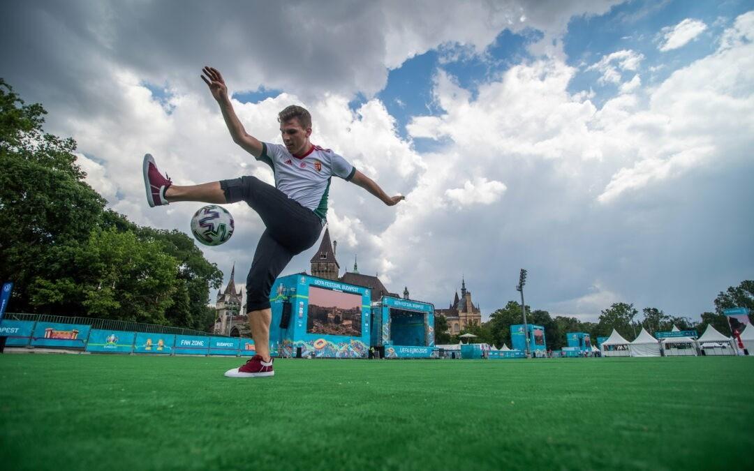 EURO-2020: Megnyitotta kapuit a városligeti szurkolói zóna