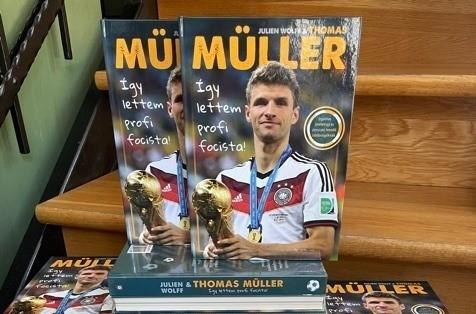 Így lettem profi focista! – Thomas Müller gyerekkönyve a Kisgombosban