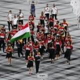 Tokió 2020 - A magyarok Cseh és Mohamed vezetésével bevonultak az Olimpiai Stadionba