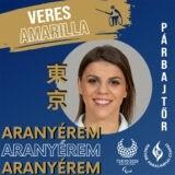 Paralimpia Tokió2020 - Veres Amarilla aranyérmes párbajtőrben